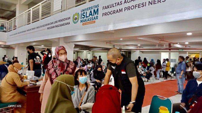 UIM dan Yayasan Hadji Kalla Gelar Lagi Vaksinasi, Majdah: Kampus yang Komitmen Lawan Covid-19