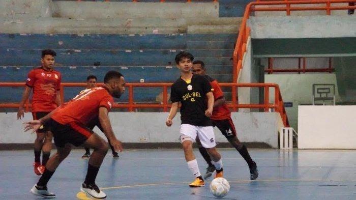 Tanding Sore Ini, Tim Futsal Sulsel Tak Gentar Hadapi Maluku Utara