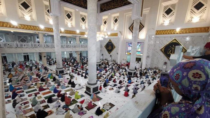 Masjid Agung Syekh Yusuf Gowa Bisa Tampung 1.732 Jamaah Salat Tarawih