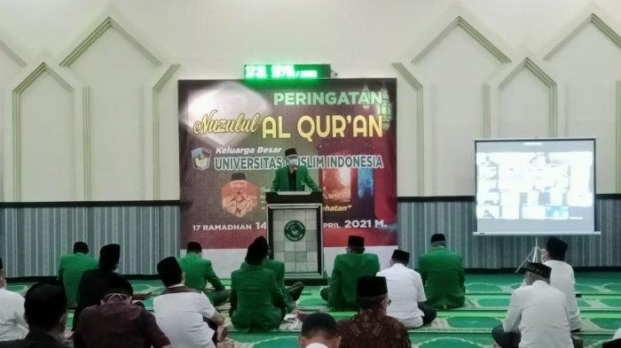 UMI Peringati Nuzulul Quran, Prof Basri Modding: Jadikan Alquran Sebagai Pedoman Hidup