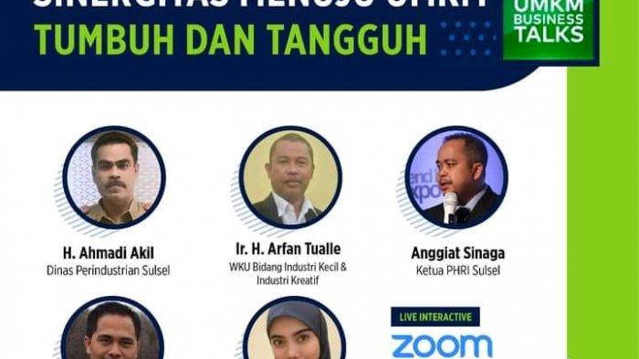 UMKM Business Talk, Kadis Perindustrian: 4 Ribu IKM 'Gulung Tikar' di Sulsel