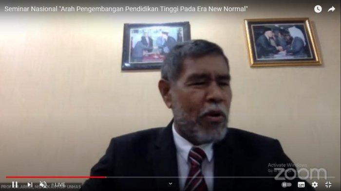 Unhas Gelar Seminar Nasional, Bahas Kondisi Perguruan Tinggi Dimasa Pandemi