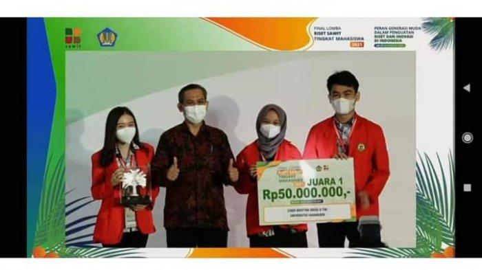 Mahasiswa Unhas Temukan Ramuan Penambah Imun dari Kelapa Sawit