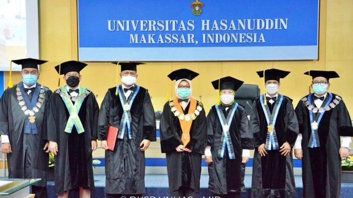 Unhas Kukuhkan Tiga Professor Baru Fakultas MIPA, Berikut Namanya