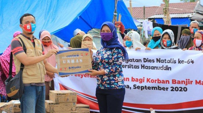 Unhas Bangun Sumur Bantu Korban Banjir Masamba
