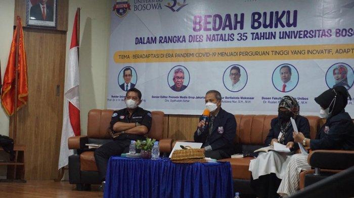Rangkaian Dies Natalis ke-35, Unibos Bedah 2 Buku Karya Dosen Fakultas Hukum