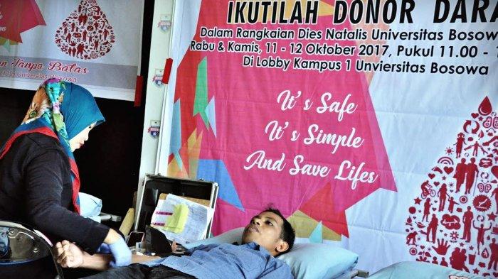 FOTO: Sambut Dies Natalis ke-31, Unibos Gelar Donor Darah
