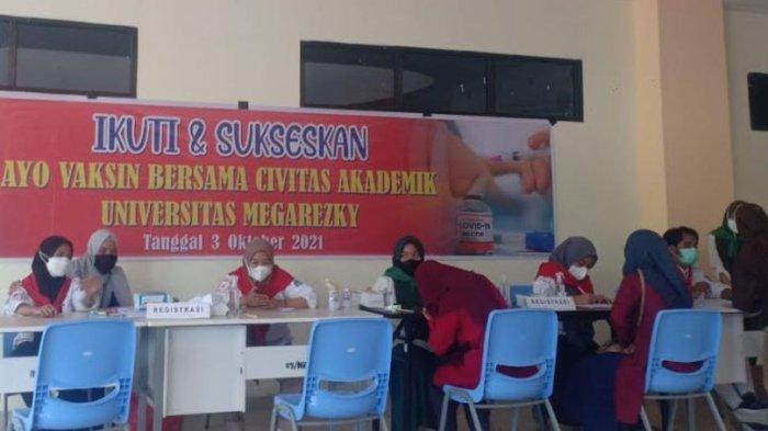 Unimerz Gandeng PDIP Sulsel Gelar Vaksinasi