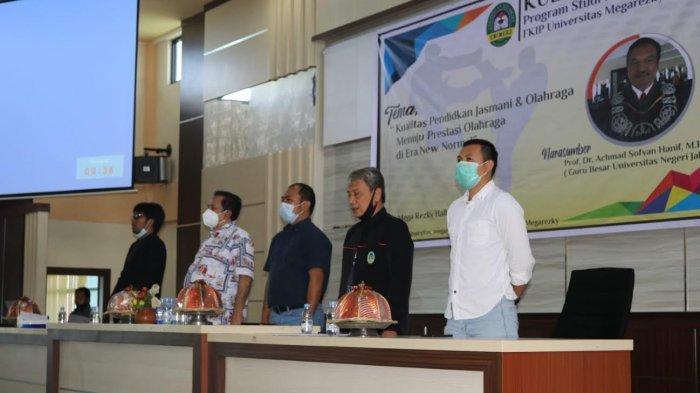 Prodi Pendidikan Jasmani FKIP Unimerz Gelar Kuliah Pakar