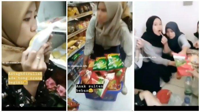 Gerombolan Cewek Ubrak-abrik Minimarket Mirip Indomaret, Lihat Komentar Gibran Rakabuming Jokowi