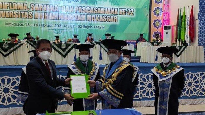 Wisuda, Unismuh Makassar Juga Tandatangani MoU Berbagai Institusi Pemerintah dan Swasta