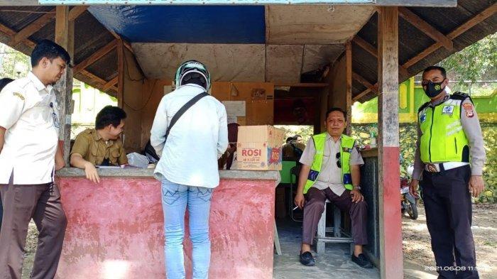 UPT Pendapatan Wilayah Enrekang Gelar Operasi Penertiban Pajak Kendaraan