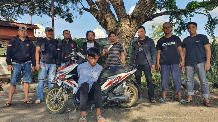 Menjambret di Jl Sultan Hasanuddin Pinrang, Warga Parepare Ini Akhirnya Diringkus Polisi