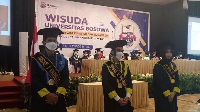 Unibos Kukuhkan 594 Wisudawan, Ketua LLDIKTI Minta Alumni Jadi Penyedia Lapangan Kerja