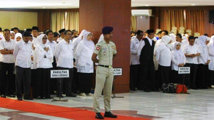 Alasan Cuaca, Peringatan HAB Kemenag ke-73 UIN Alauddin Makassar Digelar di Auditorium