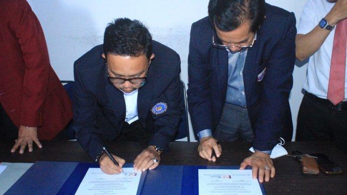 Unibos dan Universitas Muhammadiyah Bone Teken MoU