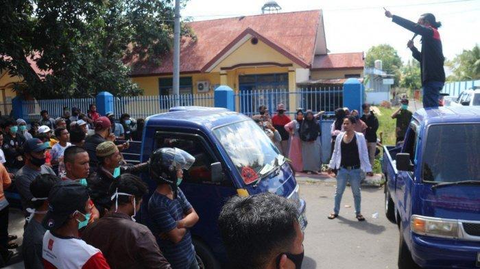 Tak Serius Tangani Laporan Penggelapan Dana Masjid, Warga Datangi Polres Bantaeng