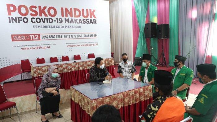 Di Hadapan Pj Wali Kota Makassar, GP Ansor Nyatakan Siap Terlibat dalam Penanganan Covid