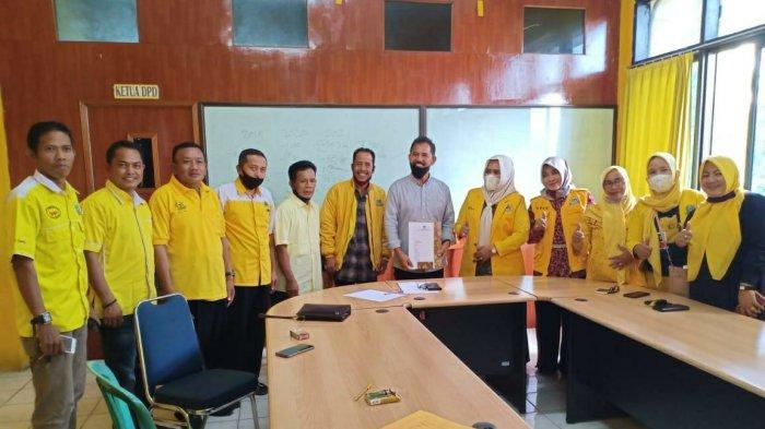 Untung Pawittoi Ramaikan Bursa Calon Ketua Golkar Pinrang