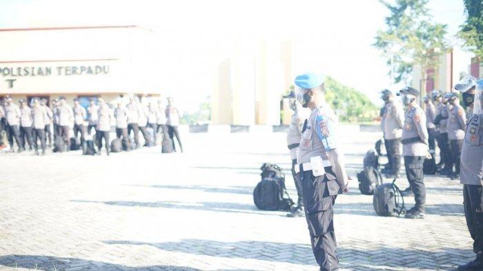 Polda Sulbar Sebar 337 Polisi Jaga Pilkada di Empat Kabupaten