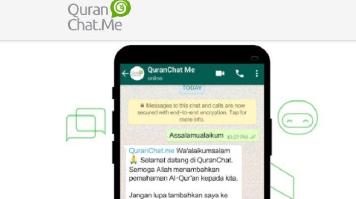 Quran Chat Me, Pelajari Al Quran dengan Mudah Via WhatsApp dan Media Sosial, Caranya Sangat Mudah