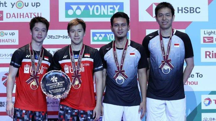 UPDATE BWF World Ranking-Raih Gelar Juara Dunia 2019, Akankah Ahsan/Hendra Geser Marcus/Kevin?