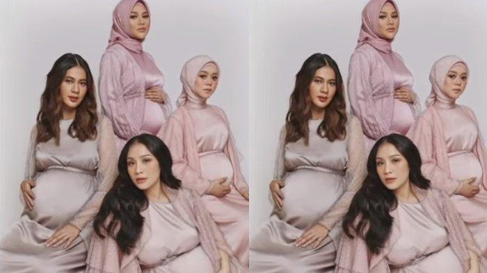 Update Gosip Kehamilan Lesti Kejora, Kenapa Cuma Lesti Kejora Dibahas? Netizen Bandingkan Perut Nagita Slavina, Aurel Hermansyah & Paula
