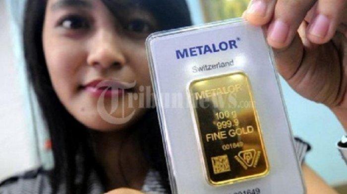 TURUN LAGI, Berikut Rincian Harga Emas Antam 0,5 Gram hingga 1 Kg Hari Ini Selasa 15 Desember 2020