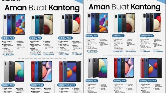 UPDATE Harga Terbaru HP Samsung Akhir Mei 2021, Galaxy A21s, A12, A02s, Galaxy A32 5G Rp 3.8 Juta
