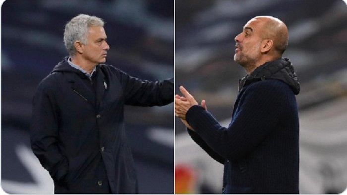 Live Streaming Man City vs Tottenham Hotspur, Jose Mourinho Terancam Dipecat Jika Kalah