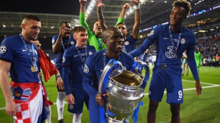 Chelsea Juara Liga Champions Kante Terbaik, Aguero Tinggalkan City Tak Tepati Janji 7 Tahun Lalu