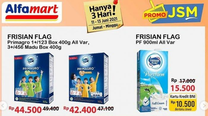 UPDATE Katalog <a href='https://manado.tribunnews.com/tag/alfamart' title='Alfamart'>Alfamart</a> Minggu 13 Juni 2021, Promo Beras, Minyak, Susu hingga Biskuit