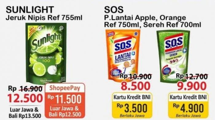 UPDATE Katalog Alfamart Sabtu 5 Juni 2021, Promo JSM Beras, Pembersih Lantai & Piring Turun Harga
