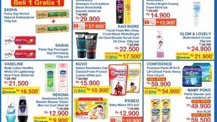 UPDATE Katalog Indomaret Terbaru Minggu 18 Juli 2021, Promo Pasta Gigi, Deodorant dan Body Lotion
