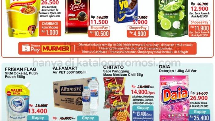 KATALOG Promo Alfamart Jumat 23 April 2021: Minuman dan Bumbu Masak Gratis 1, Sirup dan Snack Diskon
