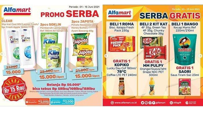 KATALOG Promo Alfamart Senin 14 Juni 2021: Produk Serba Rp 5000 hingga Bumbu Masak Gratis