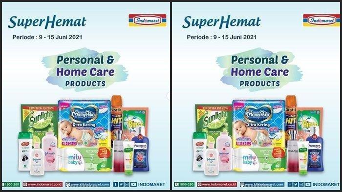 KATALOG Promo Indomaret Rabu 9 Juni 2021: Shampo hingga Deterjen Turun Harga, Nikmati Diskon 40%