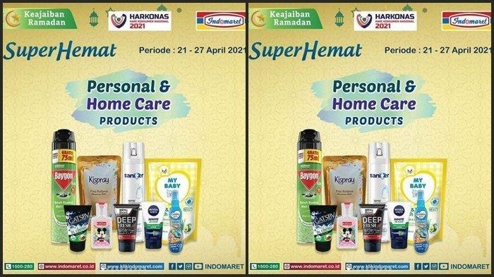 KATALOG Promo Indomaret Senin 26 April 2021: Minuman Graris 1, Produk Lain Tambah Rp 5000 Dapat 2