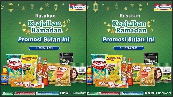 KATALOG Promo Indomaret Senin 3 Mei 2021: Sirup Rp7000, Susu Rp2000, Deterjen dan Obat Nyamuk Diskon