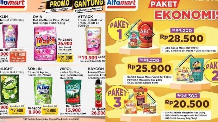 KATALOG Promo JSM Alfamart Jumat 28 Mei 2021:Beras dan Minyak Goreng Lebih Murah, Ada Paket Ekonomis