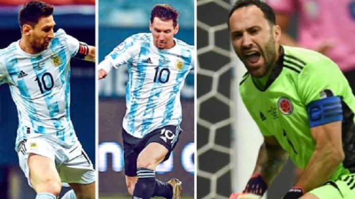 Live Score, Live Streaming TV Online Argentina vs Kolombia Nonton Indosiar Tanpa Buffer Sekarang