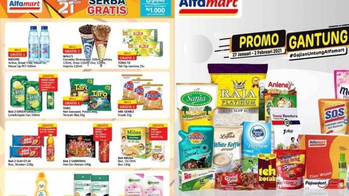 KATALOG Promo Alfamart Rabu 3 Februari 2021: Kebutuhan Bayi dan Bahan Makanan Turun Harga, Gratis 1