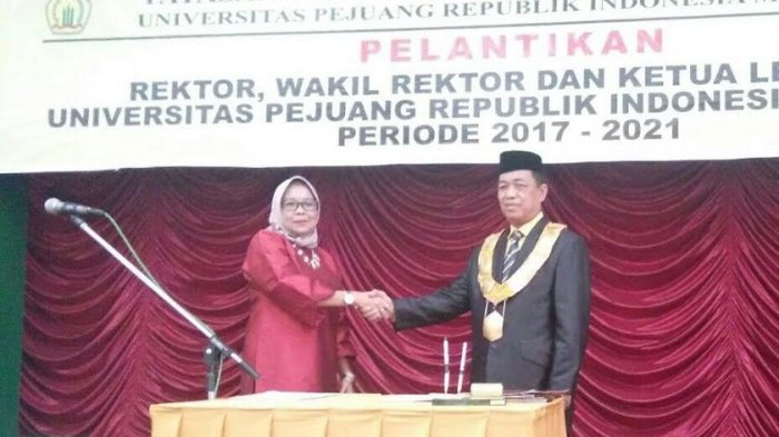Dr Abd Azis Dilantik Jadi Rektor Baru UPRI