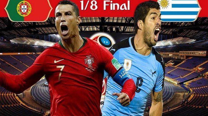 Live Trans TV, Nonton Live Streaming Portugal vs Uruguay via Aplikasi HP, Ronaldo Cetak Bola?