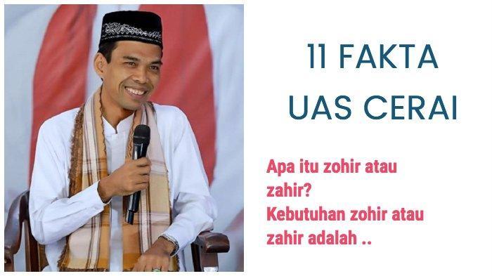 5 Fakta Ustadz Abdul Somad UAS dan Istri Mellya Juniarti Cerai, Penyebab Karena Kebutuhan Zohir?
