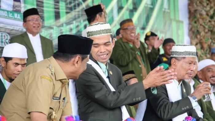 Kunjungi Barru, Ustaz Abdul Somad Sebut Hubungan Bupati dan Pimpinan Ponpes Layak Dicontoh