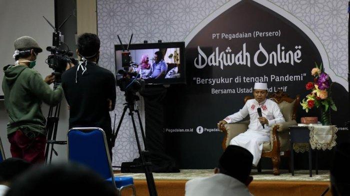 Ustaz Das'ad Latif Jadi Pembicara Kegiatan Rohani Islam Pegadaian Kanwil Makassar
