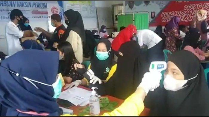 Serbuan Vaksin Pemuda di Palopo, Kolaborasi KNPI, PMI dan HIPMI Siapkan 2.000 Dosis