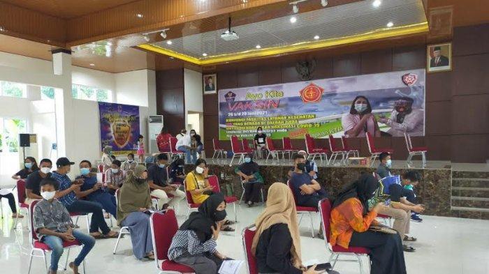 470 Orang Ikut Vaksinasi di Lanud Sultan Hasanuddin, 7 Ditunda