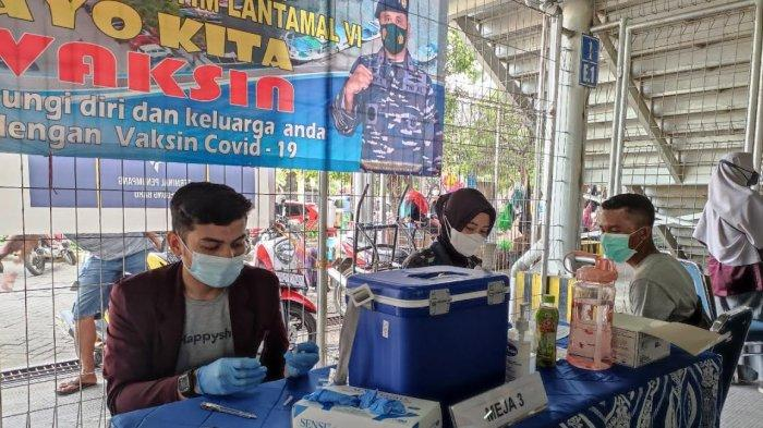 Pelindo IV-Lantamal VI Target Vaksin 6.000 Warga Sekitar Pelabuhan Makassar